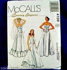 McCall's 4109 Corset Petticoat Undergarmet Pattrn 12-18