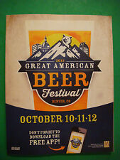 2013 GREAT AMERICAN BEER FESTIVAL Guide ~ Denver GABF Brewery Facts Fest Styles
