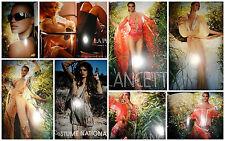 Rianne Ten Haken clippings lot  2005 Vogue Italia La Perla Lancetti fashion ads