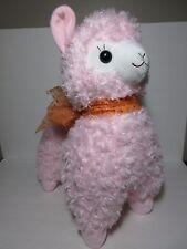 Rare Gorgeous Alpacasso Pink Alpaca Orange Scarf 45cm Plush Amuse Arpakasso Cute