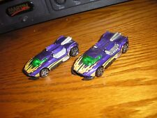 LOT of 2 Hot Wheels Maelstrom Exotic Tuner Street Racer Sports Cars