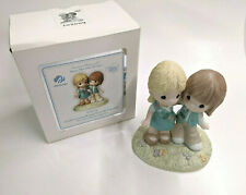 """PRECIOUS MOMENTS """"GIRL SCOUTING BRINGS FRIENDS TOGETHER"""" PORCELAIN FIGURINE"""