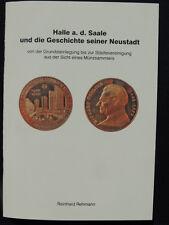 Halle/Saale 50 anni Halle-Neustadt medaglie cultura federale h. Re autore-Rehmann