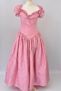 Brides & Maids Pink Ball Gown Size 12 / 32 Long Dress