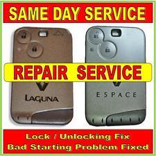 Renault Laguna & Espace  Key Card Repairs.Same Day Service !! Trusted Repairer