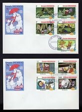 "Disney The Rescuers 1982 (FDC) First Day Issue Cover ""Grenada"" Stamp"