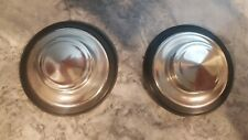 2 InSinkErator Sink Stoppers, Drain Stoppers, Stainless Steel, Polished