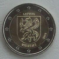 2 Euro Lettland 2016 Vidzeme / Livland unz.