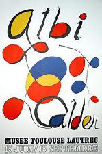 "Alexander Calder, ""ALBI,1971"" Musee (Toulouse Lautrec) Galerie Maeght"