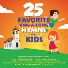 25 Favorite Sing a Long Hymns for Kid 0792755601020 by Songtime Kids CD