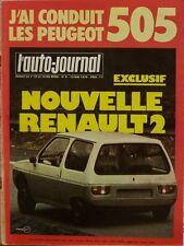 L' AUTO-JOURNAL n 9 . 15 mai 1979 . J' ai conduit les Peugeot 505 .