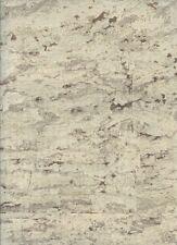 WALLPAPER BY THE YARD RN1022 Wallpaper Suede Cork Feel Metallic Gold Grey