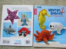 Leisure Arts Crochet WATER BABIES AMIGURUMI pattern book