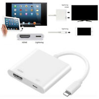 Digital AV Adapter 8Pin Lightning to HDMI Cable for iPhone 8 7 X iPad D*