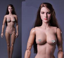 JXTOYS JX-01A 1/6 Asian Big Bust Female Body Flexible F KIMI Beauty Head Carving