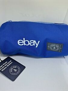"ebay Swag Blue Parkland Highfield Pencil Case Zip Round 8.5""l x 4""d Recycled"