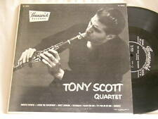 "TONY SCOTT Quartet Dick Katz Percy Heath Osie Johnson Brunswick 10"" LP"