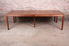 Edward Wormley for Dunbar Janus Collection Walnut Extension Dining Table