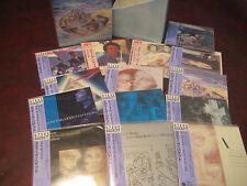 STEVE HACKETT 14 JAPAN REPLICAS  A OBI AUDIOPHILE CD Box Set  ONE TIME SPECIAL