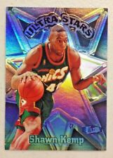 SHAWN KEMP 1997-98 ULTRA STARS INSERT BASKETBALL CARD # 17 SUPERSONICS RARE L@@K