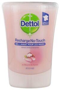 2 or3 X Dettol No-Touch Refill Honey Nourishing,Rose&Shea Butter,Grpefruit 250ML