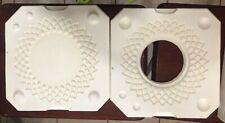 Vintage Duncan Ceramic Plate Casting Mold Hm137