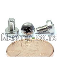 M3 x 5mm  Stainless Steel Phillips Pan Head Machine Screws, Cross Recessed A2