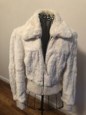 Fur reversible jacket