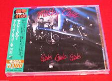 MOTLEY CRUE - GIRLS, GIRLS, GIRLS - JAPAN JEWEL CASE CD - OOP UICY-91892
