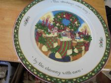 """International China """"A Christmas Story"""" """"The Stockings Were Hung"""" Dinner Plate"""