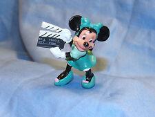 Vintage Disney Minnie Mouse Director PVC Applause Figure Cake Topper