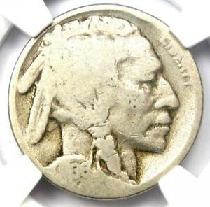 1936-D 3 1/2 Legs Buffalo Nickel 5C (Three Legged Variety) - NGC G4 - Rare!