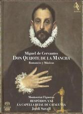 NEW Don Quijote de la Mancha - Romances y Musicas (Audio CD)