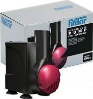 Pompe / filtration pour Décantation d'aquarium 1000 l/h HYDOR 1000