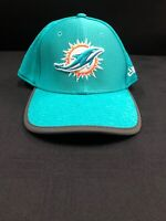 MIAMI DOLPHINS TEAM ISSUED NEW ERA FITTED BRAND NEW ELASTIC HAT ALL SIZES!