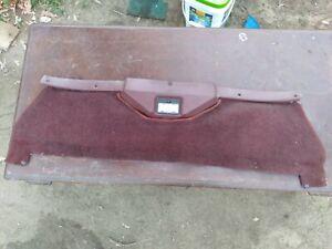 MAZDA RX7 REAR CARGO CENTER CARPET TRIM GSL GSL-SE 12A 13B FB 81-85 RED MAROON