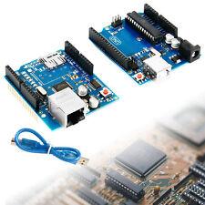 Arduino UNO R3 Board + Ethernet Shield W5100 SD Slot Expansion Board TE366