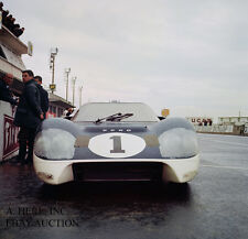 Ford GT40 J Experimental Car paddock 1000 km Nurburgring 1966 - photograph photo