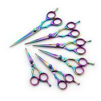 Hairdressing Scissor Hair Cutting Salon Barber Scissors Sharp Titanium Multi