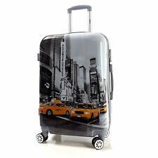 Motiv Koffer Trolley Bowatex Printkoffer bags TSA Taxi Auto New York XL 77 Groß