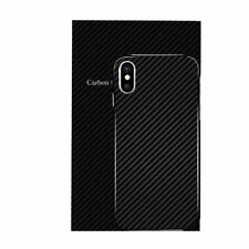 Ultra Thin Slim (Matte) Carbon Fiber Hard Back Case Cover For Apple iPhone X AU