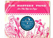 78 RPM.RONNIE HILTON.ON THE STREET WHERE YOU LIVE / GROWN ACCUSTOMED TO HER FACE