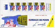 Bande Carnet BC2744A - Journée du timbre - L'accueil - La Poste - CR - 1992