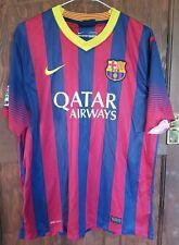 Camisa Casa FC Barcelona Nike 2013-14, Para Hombre Talla Grande, Buen Estado