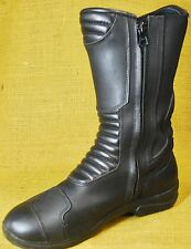Gaerne Rose Motorcycle Riding Tall Boots Women Size 10 Black Leather Waterproof