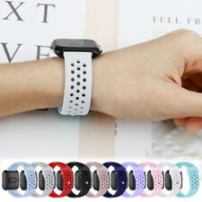 For Fitbit Versa 2 1/Lite/SE Silicone Accessory Strap Wristband Replace Band LS