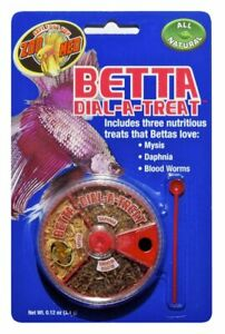Zoo Med Betta Freeze Dried Dial-a-Treat Fish Food .12oz