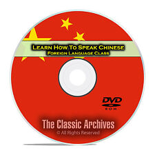 Learn How To Speak Chinese, Fast Foreign Language Training Course, DVD D89