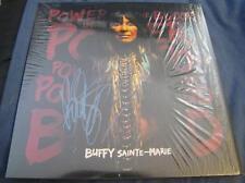 Buffy Sainte-Marie Power in the Blood Folk rock Auto LP Vinyl © 2015 w/COA