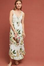8906cefbe91 NWT Farm Rio Anthropologie Protea Brynne Dress Maxi Crochet Floral Boho  Size M